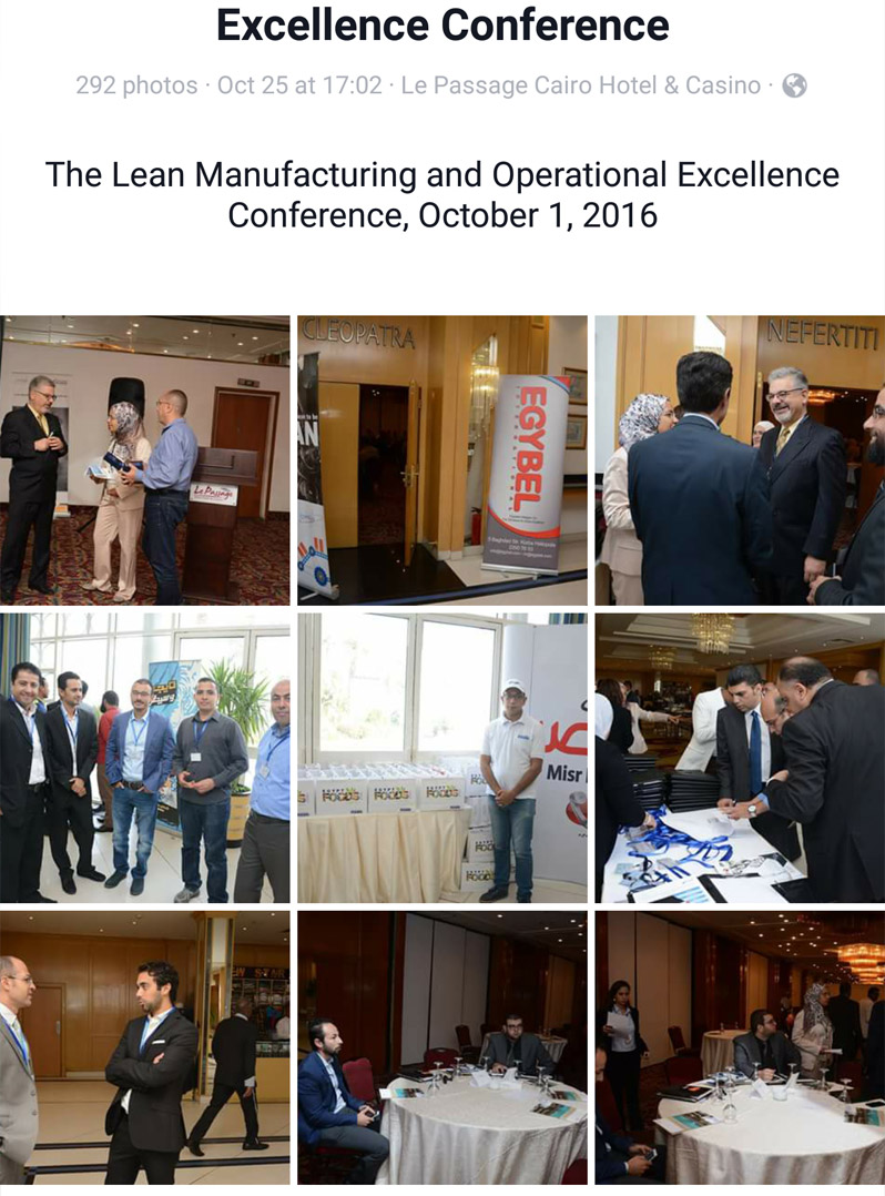Lean Manufactuting and Operational Excellence Conference Oct 2016