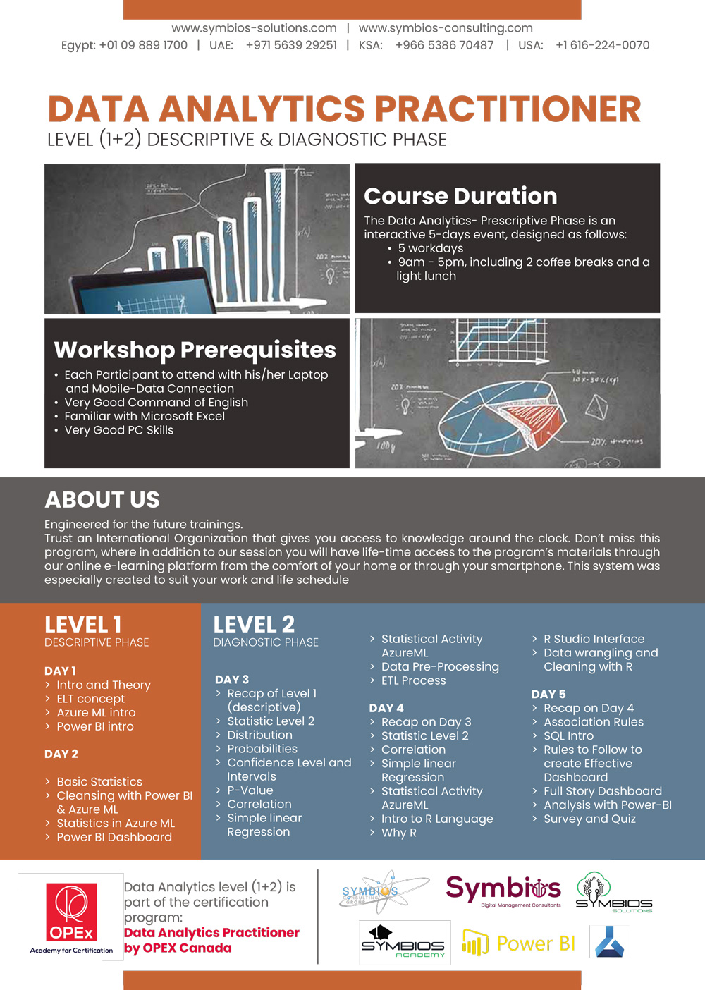 Data Analytics level (1+2) Brochure